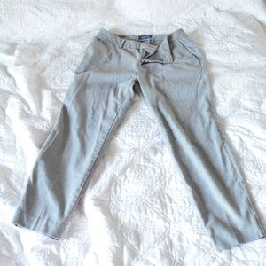 Old Navy Harper Midrise Ankle Pants Gray